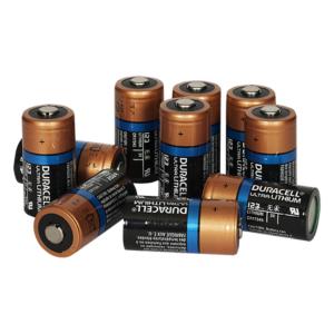 Zoll AED Plus Lithium-Batterien, Typ 123 (10 Stück)