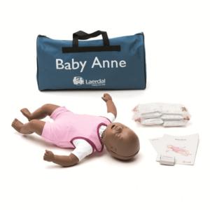 Laerdal Baby Anne Puppe (dunkel)