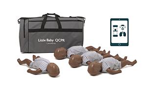 Laerdal Little Baby QCPR- dunkelhäutig - 4-pack