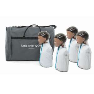 Laerdal Little Junior QCPR 4-pack, dunkelhäutig