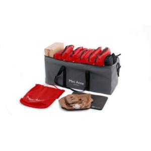 Laerdal Mini Anne Plus 10er-Pack (dunkel)