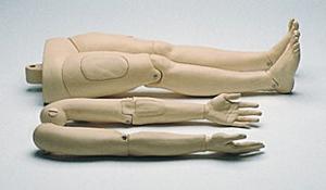 Laerdal Resusci Anne bewegliche Arme u. Beine