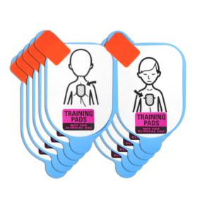Defibtech Ersatzpads für Trainingselektroden Kinder (5 Paar)