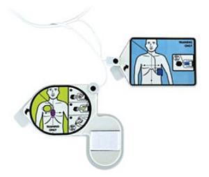 Zoll AED 3 CPR Uni-Padz Trainingselektroden (5)